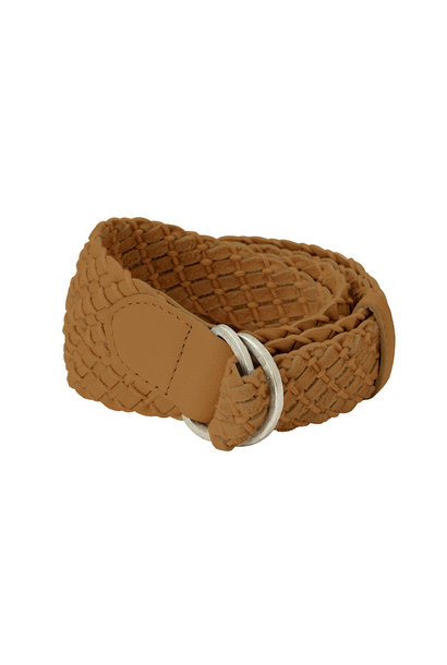 yaya Leather crochet belt 132321-120 71327