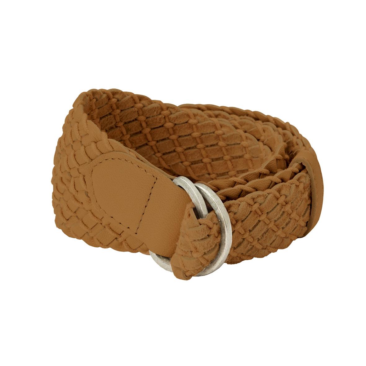 yaya Leather crochet belt 132321-120-1
