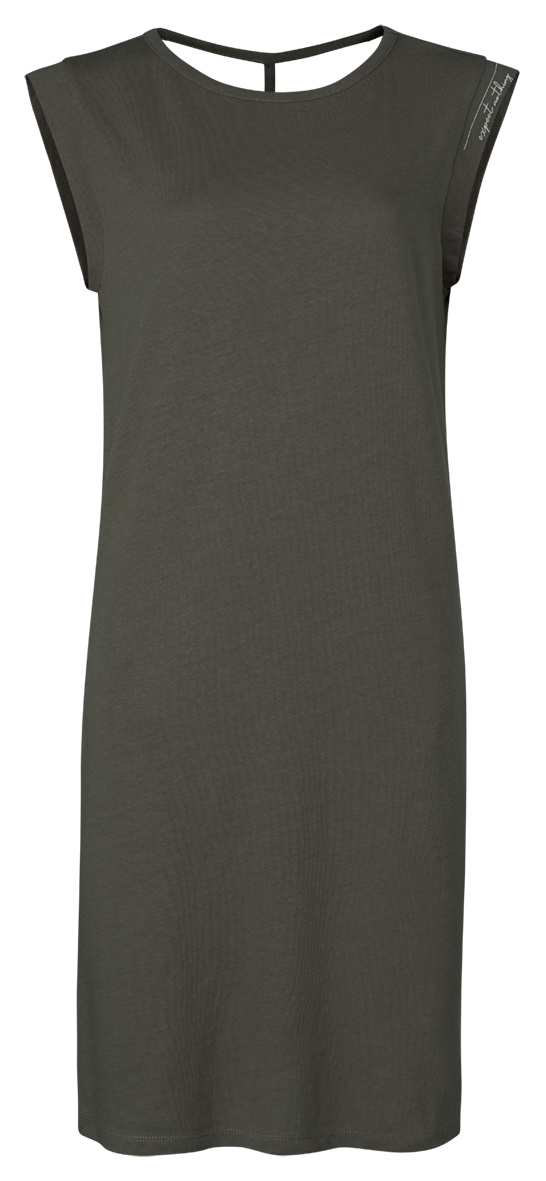 yaya Jersey dress with ba 1809347-120-1