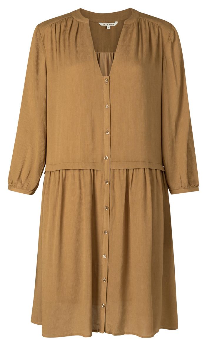 yaya Mini button up dress 1801351-120-1
