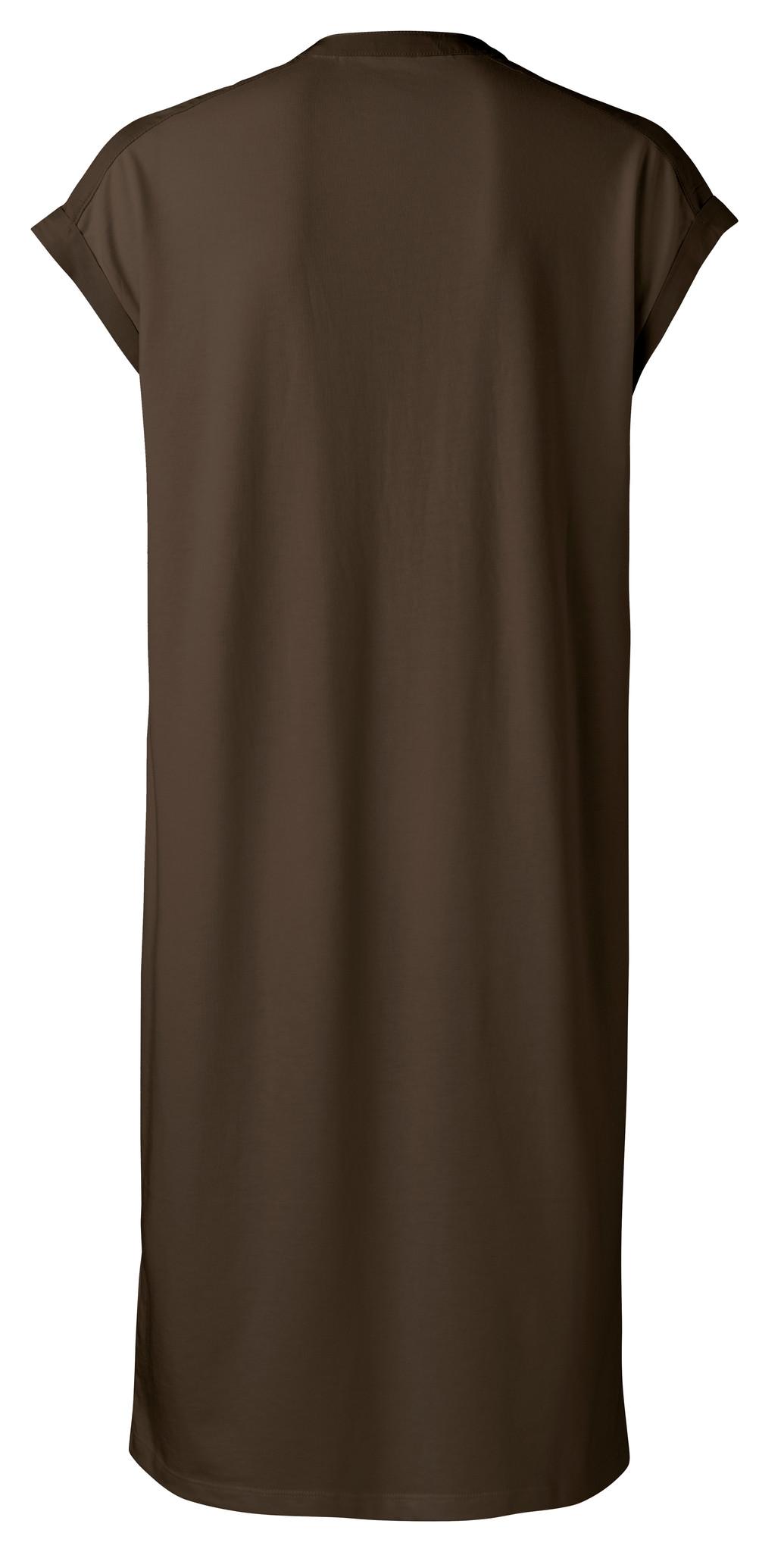 yaya Fabric mix dress wit 1809329-115-2