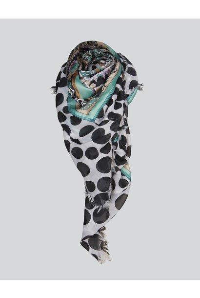 Summum scarf 8S767-8392 641 sea foam