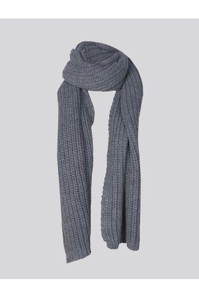 Summum scarf 8S758-7837 826 anthra m