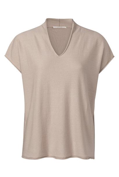 yaya V-neck sweater with 1000458-121 41305