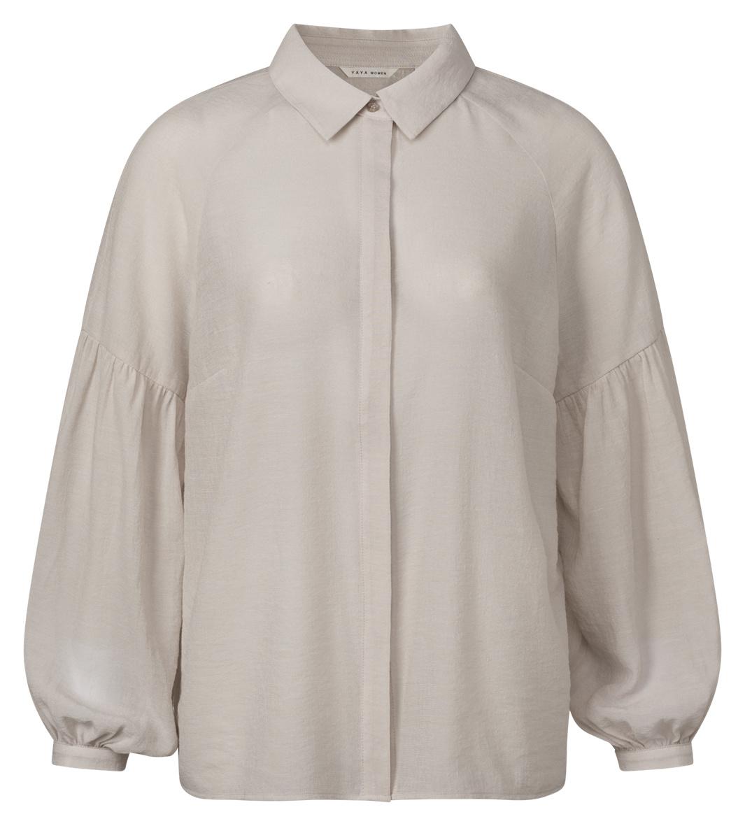 yaya Puff sleeve blouse 1101235-121-1
