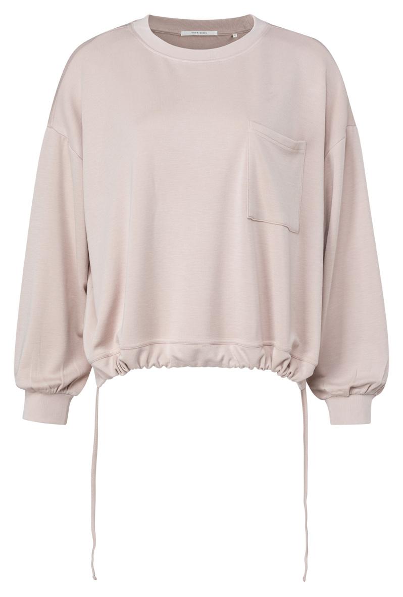 yaya Drawstring sweater w 1009319-121-1