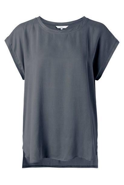 yaya Fabric mix top 1901116-121 83908