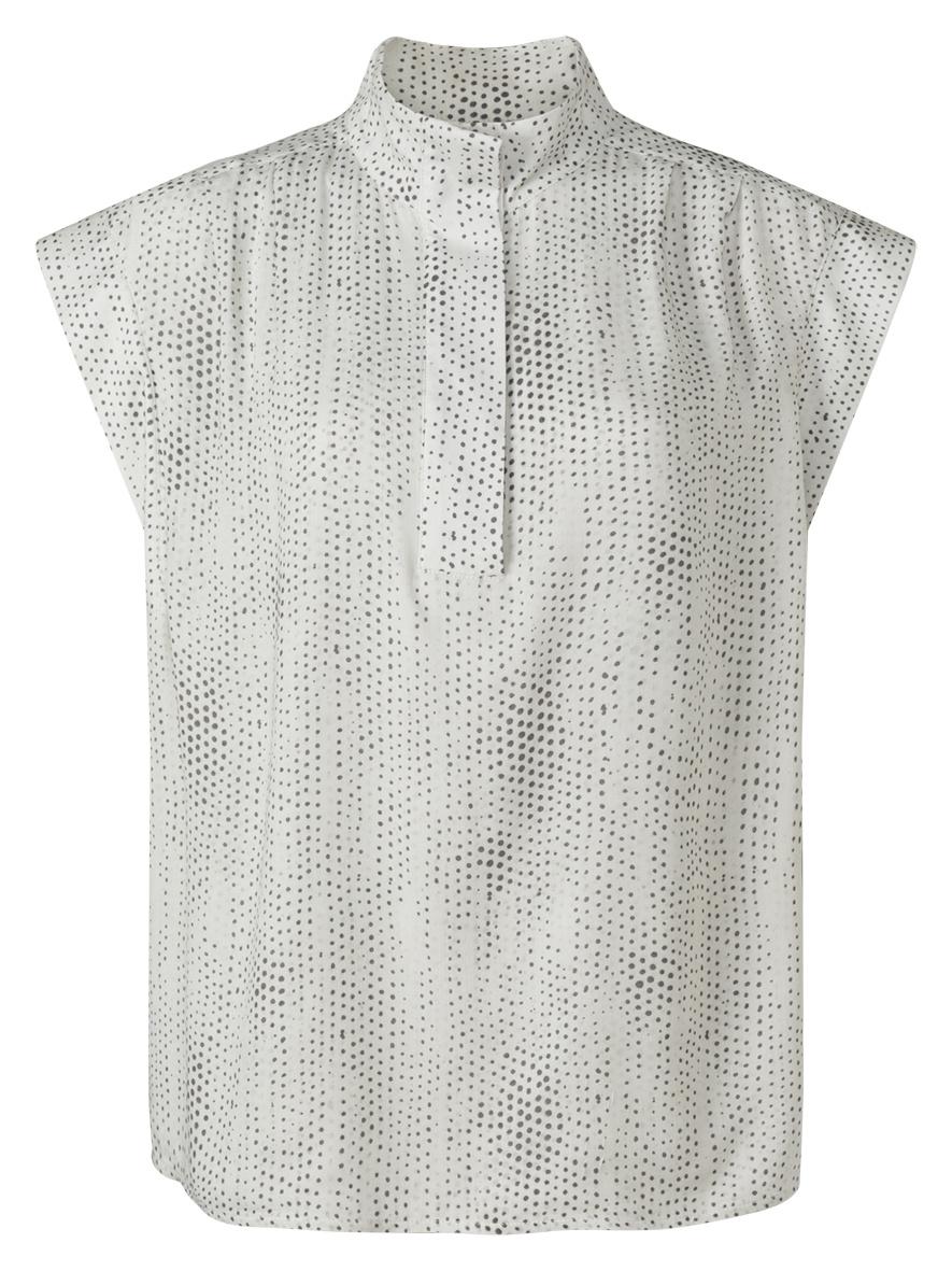 yaya Printed sleeveless t 1901458-121-1