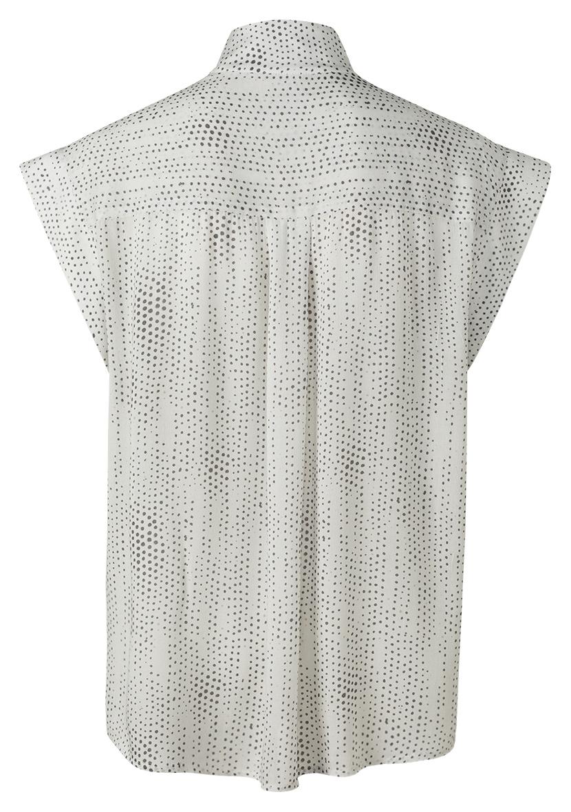yaya Printed sleeveless t 1901458-121-2