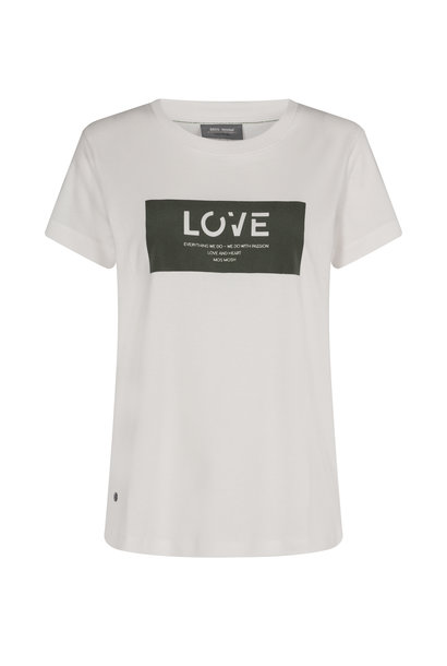 MosMosh t-shirt 136410 T-SHIRT 507 gr.leaf