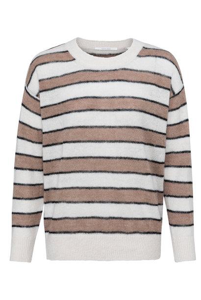yaya Striped sweater 1000470-122 304001
