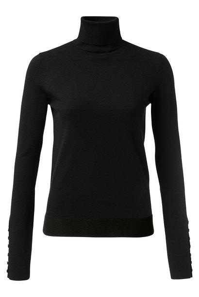 yaya High neck sweater wi 1000216-122 00001