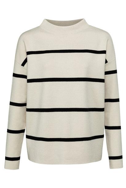 yaya Striped sweater 1000527-122 304001
