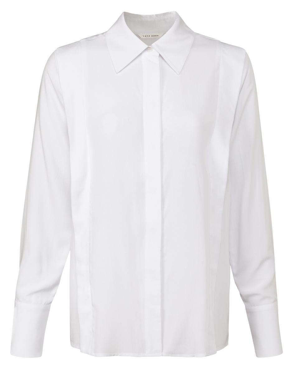 yaya Tailored blouse 1101245-122-1