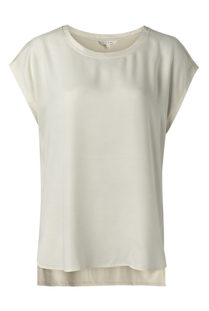 yaya Fabric mix top 1901116-122 30404