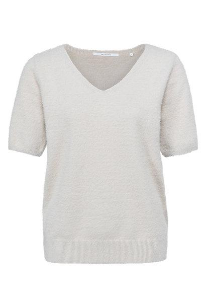 yaya Fluffy sweater V-nec 1000479-122 30400