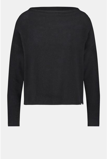 Penn & Ink sweater W21N1050-90 Black