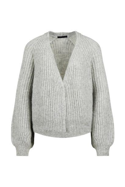 drykorn cardigan MANUI 422004 grey 6710