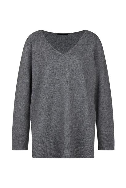 drykorn pullover LEYANI 420085 grey 6310