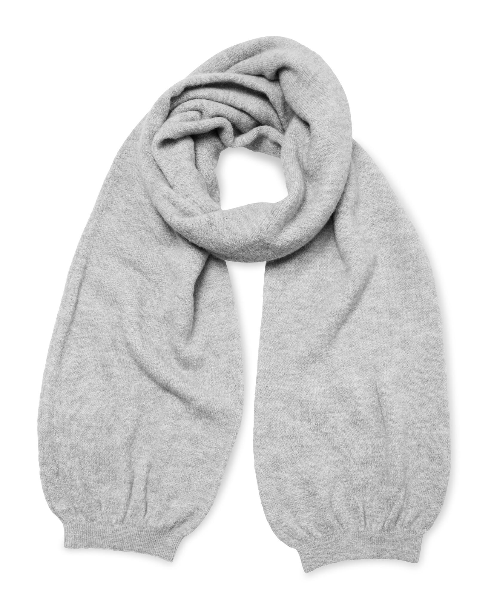 yaya Knitted cuff scarf 130009-123-1