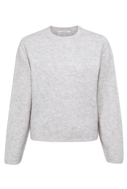 yaya Boxy sweater with lo 1000486-123 996912