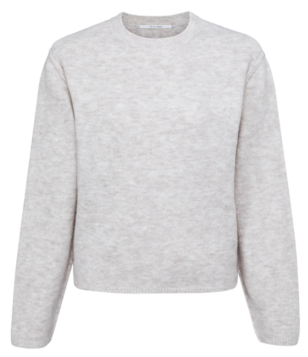 yaya Boxy sweater with lo 1000486-123-1