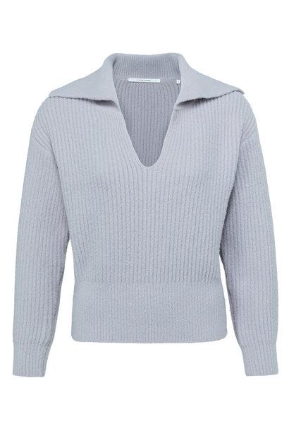 yaya Wide collar sweater 1000481-123 63803