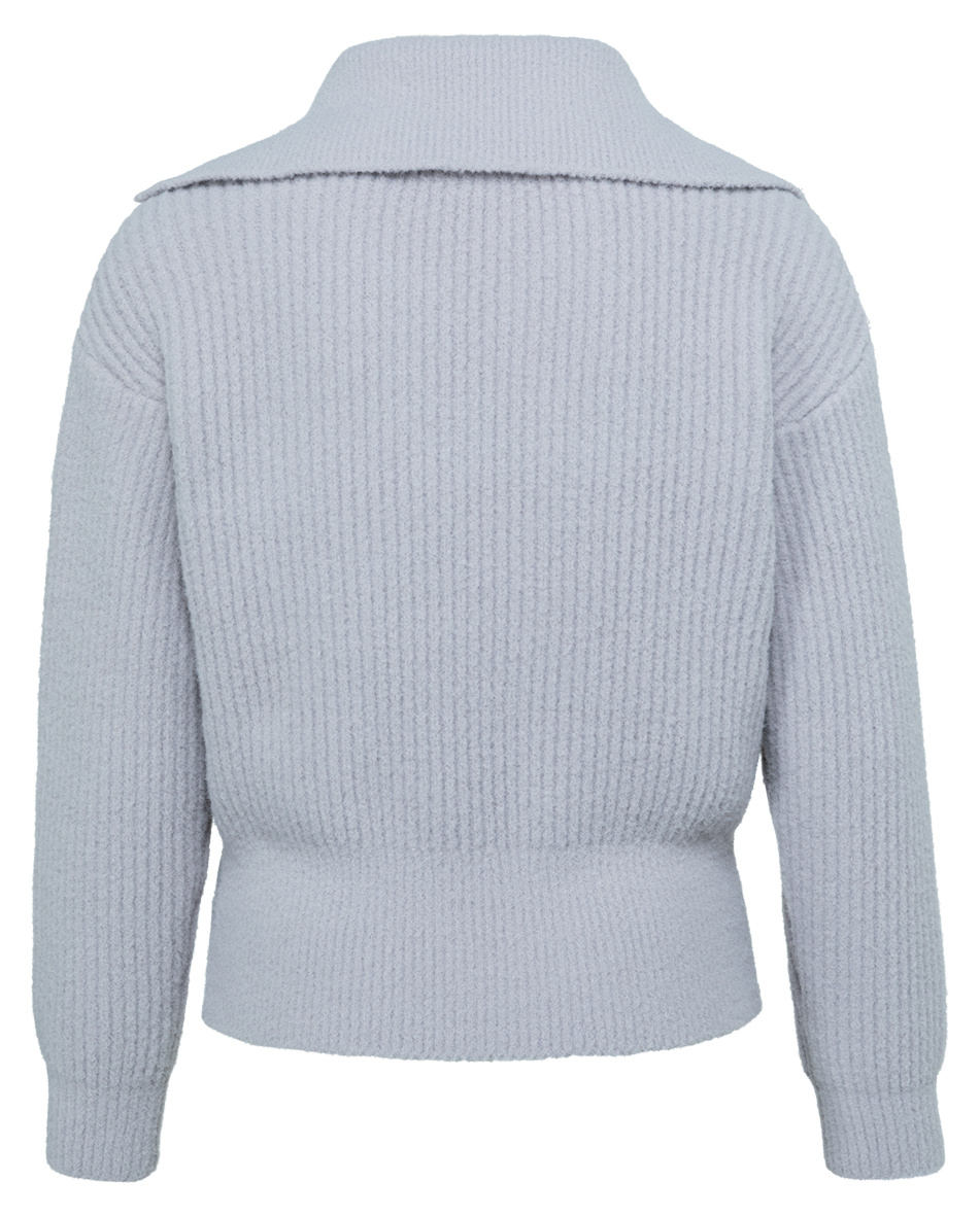 yaya Wide collar sweater 1000481-123-2