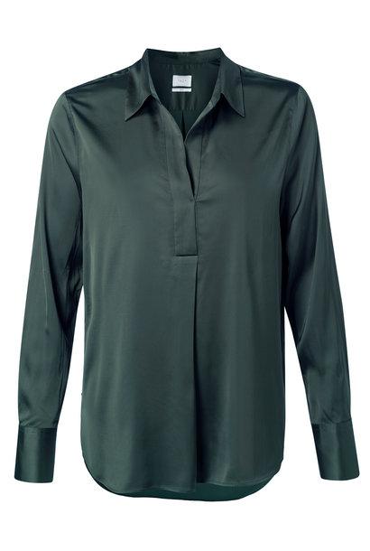 yaya Satin tunic blouse 1101199-123 95212