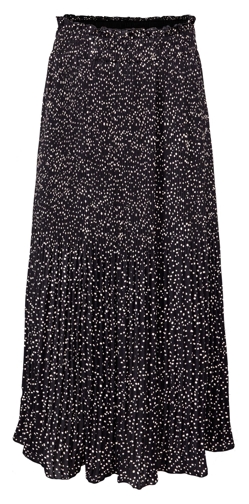 yaya Long plisse skirt 1401166-123-1