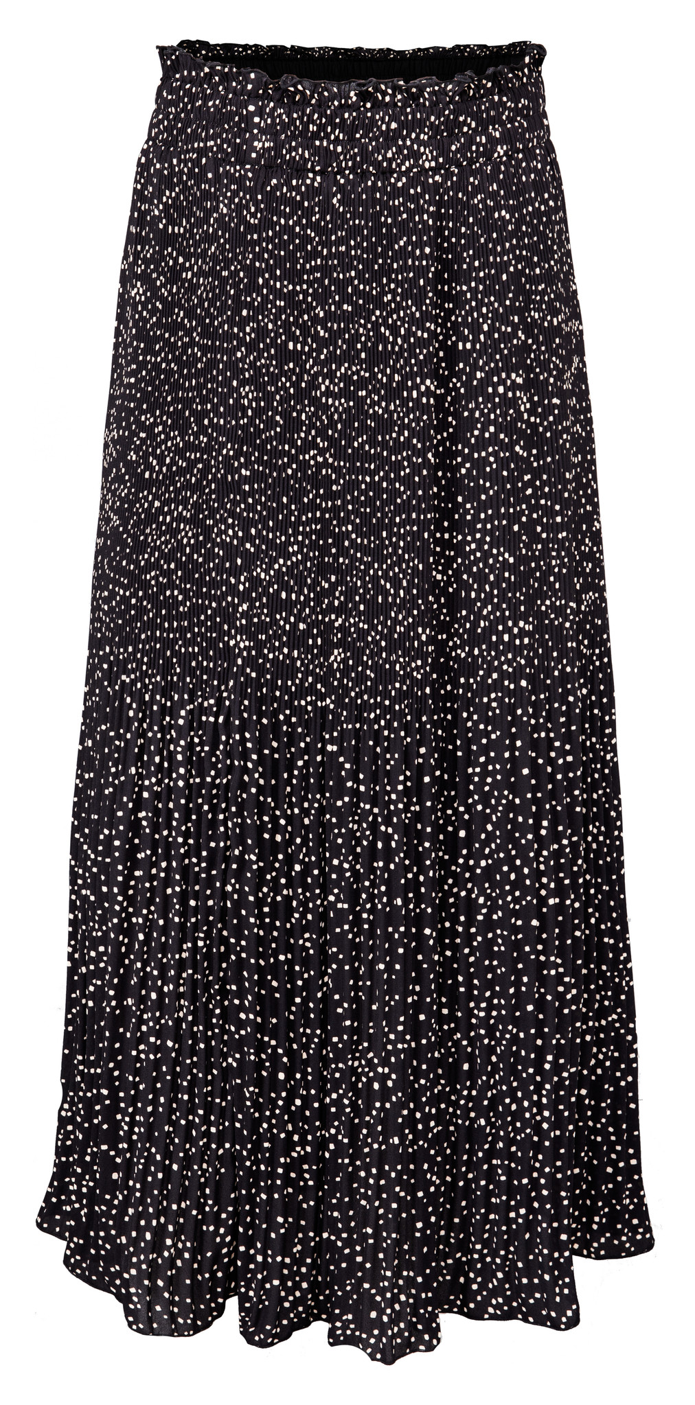 yaya Long plisse skirt 1401166-123-2