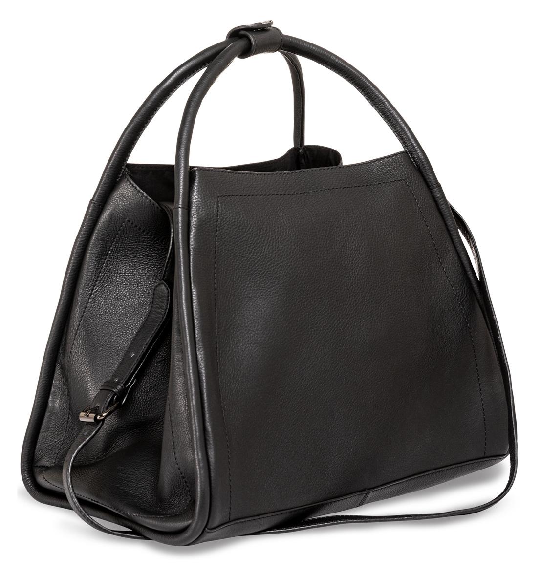 yaya Big leather shopper 1313108-122-1