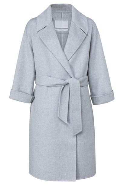 yaya Long wool-mix coat 1611053-123 500002