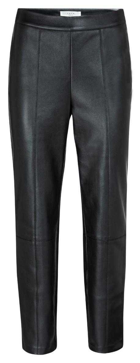 yaya Faux leather treggin 1269014-123-1