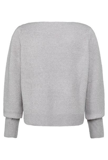 yaya Boatneck sweater lon 1000485-123 63803