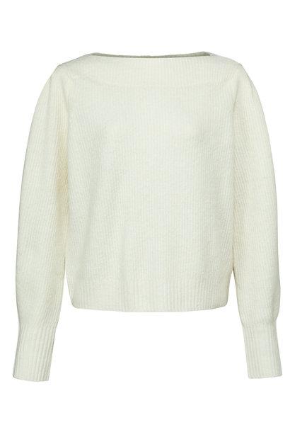 yaya Boatneck sweater lon 1000485-123 99691