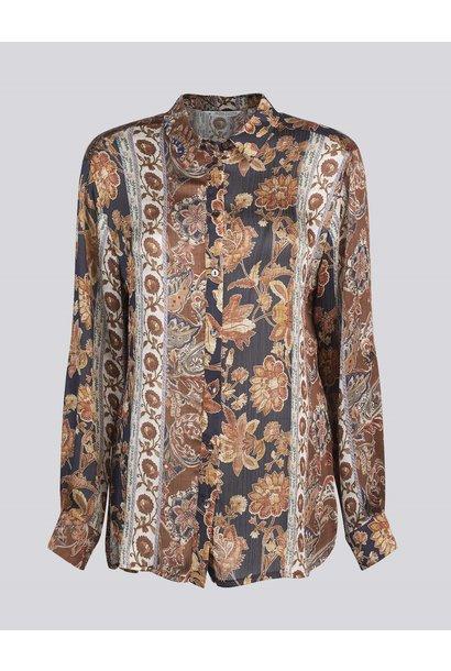 Summum blouse flower print 2S2653-11527 120 multicol