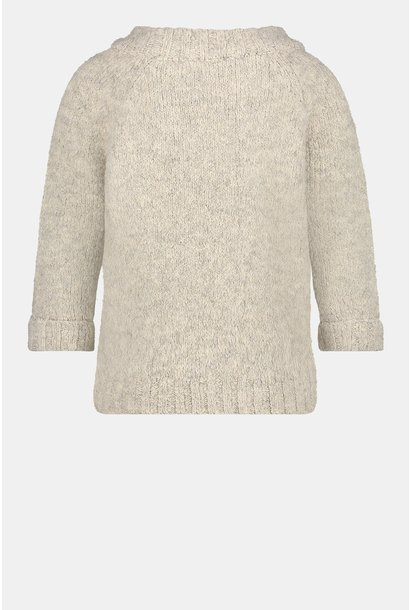 Penn & Ink Pullover W21L140-03 Sand