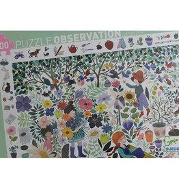 Djeco Puzzel, observation, 1000 bloemen