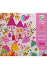 Djeco Djeco - stempelset prinsessen