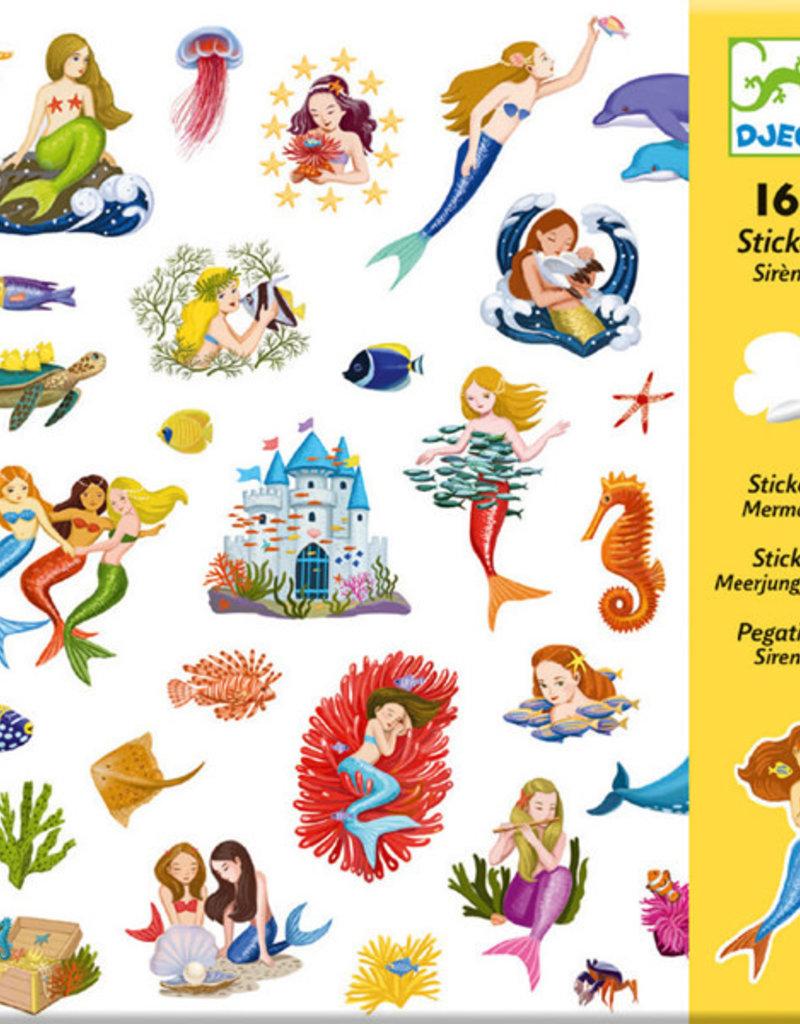 Djeco Djeco - stickers, zeemeerminnen