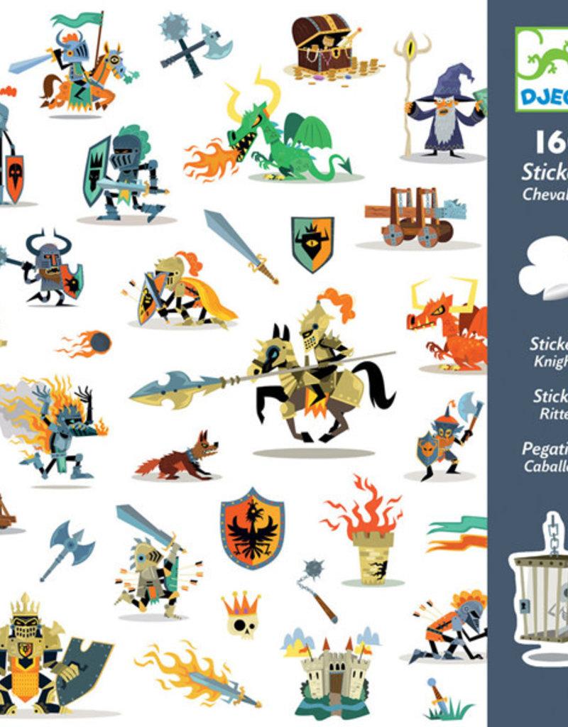 Djeco Djeco - stickers, ridders
