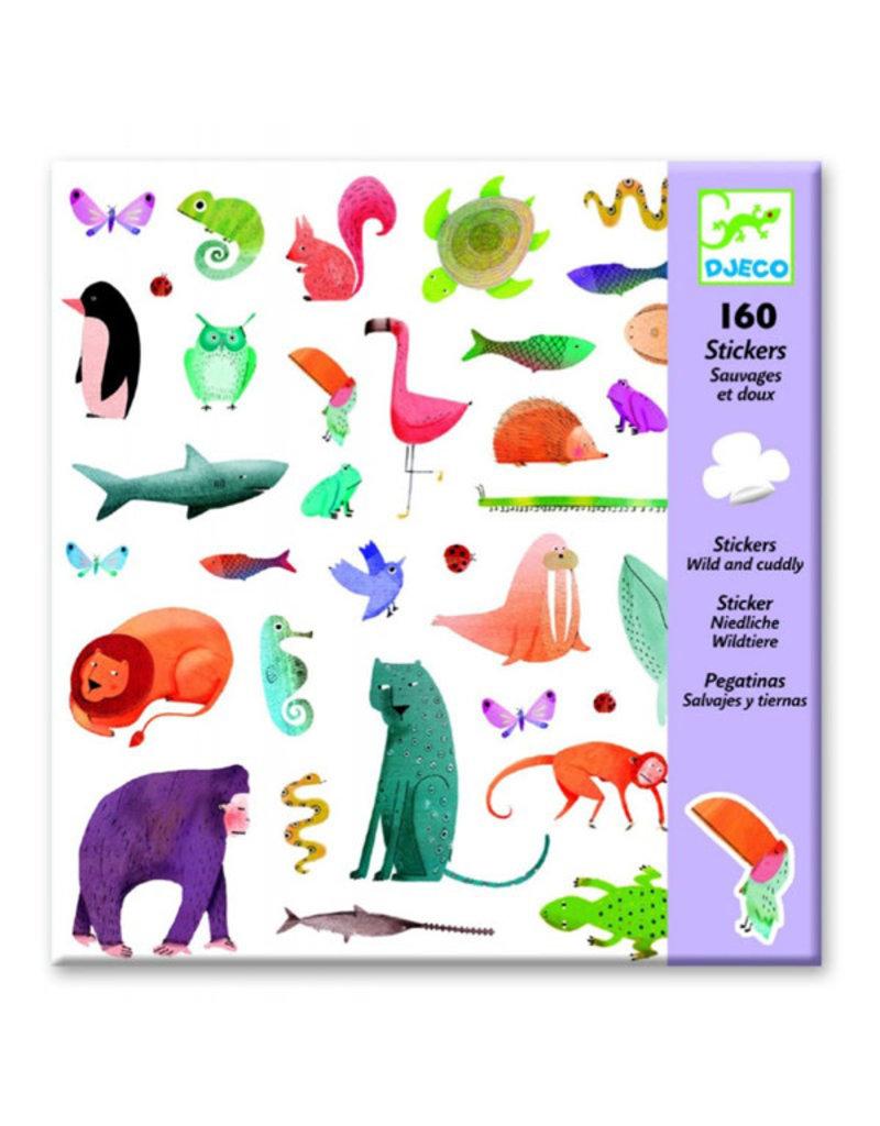 Djeco Djeco - stickers, wild en lief