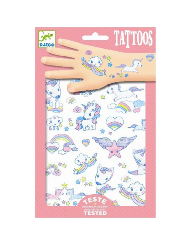 Djeco Djeco - tatoeages, eenhoorns