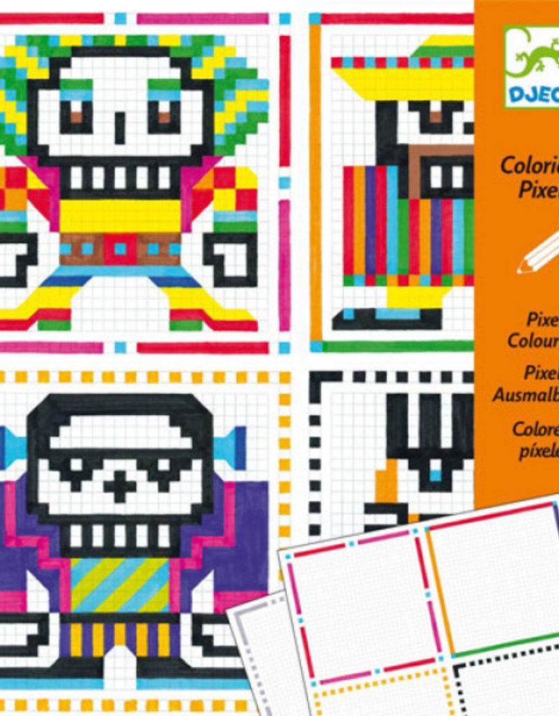 Djeco Djeco - pixels kleuren
