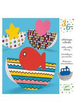 Djeco Djeco - kleurplaten, Wibbly-Wobbly
