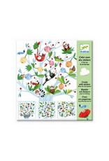 Djeco Djeco - atelier met stickers, lente