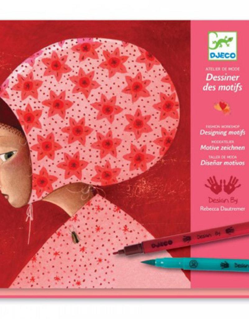 Djeco Djeco - modeatelier, motieven ontwerpen