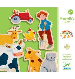 Djeco Magneten, boerderij