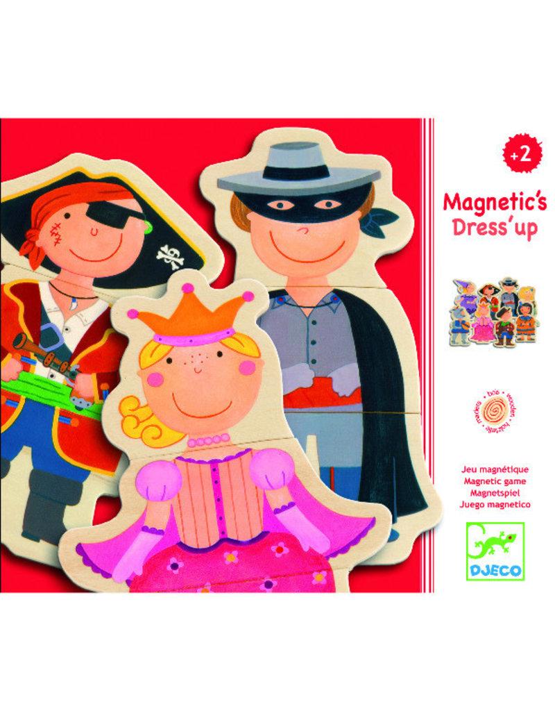 Djeco Djeco - magneten, hout, dress up